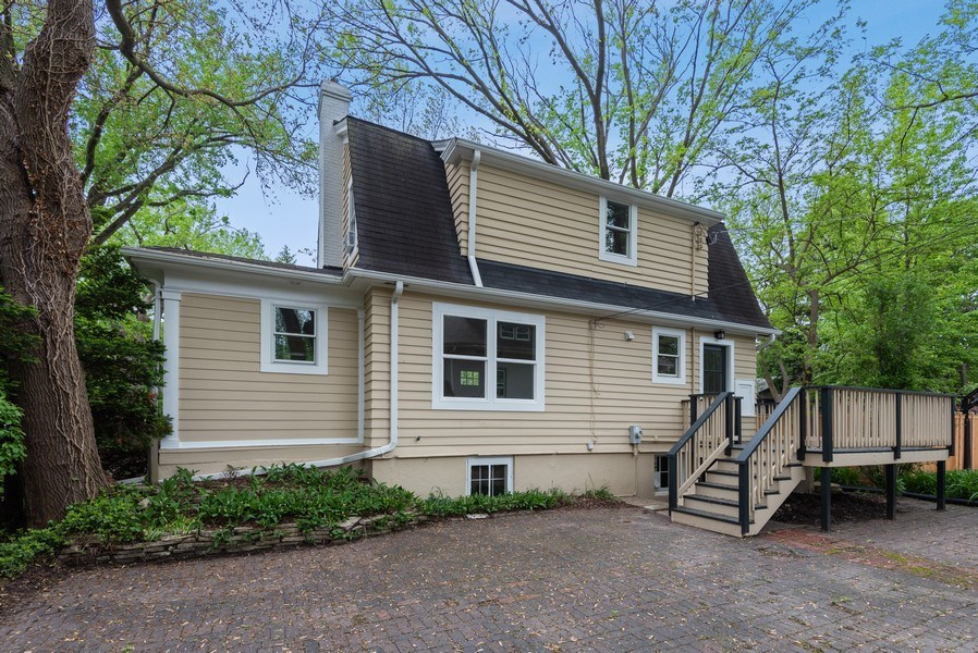 Real Estate Photography - 1803 Chancellor Street, Evanston, IL, 60201 - Rear View