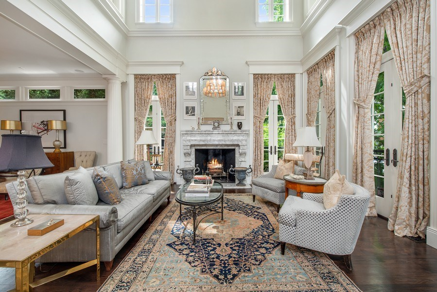 Real Estate Photography - 1239 W. Altgeld, Chicago, IL, 60614 - Living Room