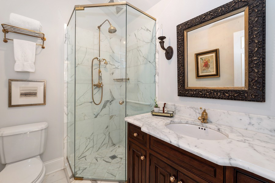Real Estate Photography - 1239 W. Altgeld, Chicago, IL, 60614 - Guest Bathroom
