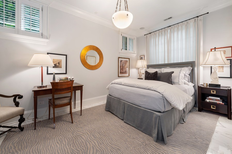 Real Estate Photography - 1239 W. Altgeld, Chicago, IL, 60614 - Guest Bedroom
