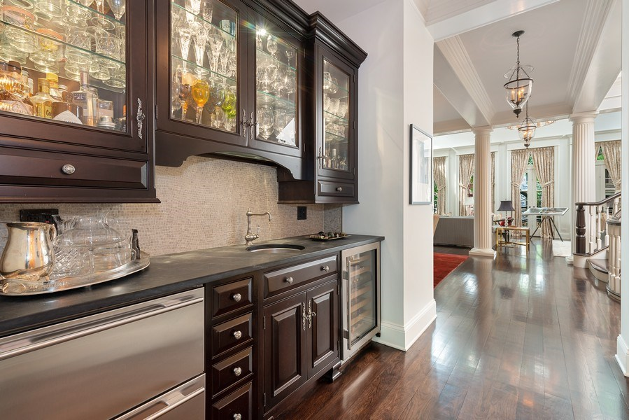 Real Estate Photography - 1239 W. Altgeld, Chicago, IL, 60614 - Butler's pantry