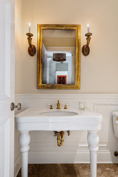Real Estate Photography - 1239 W. Altgeld, Chicago, IL, 60614 - Powder Room