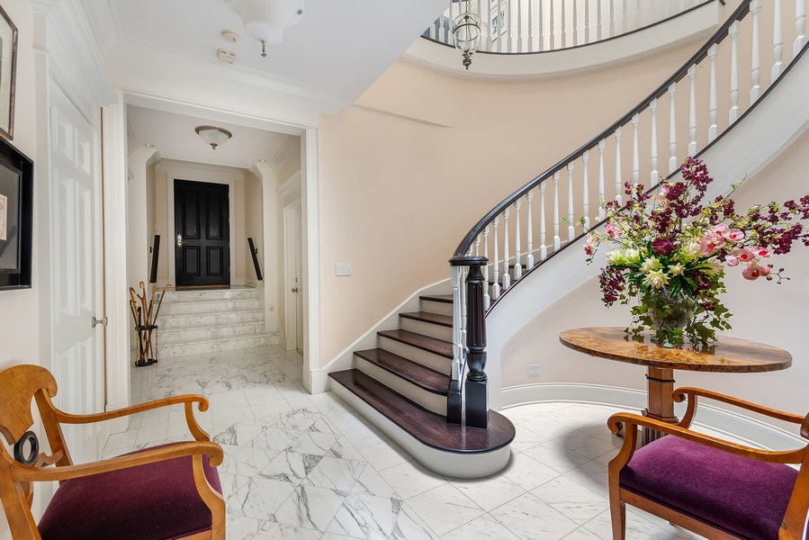 Real Estate Photography - 1239 W. Altgeld, Chicago, IL, 60614 - Foyer