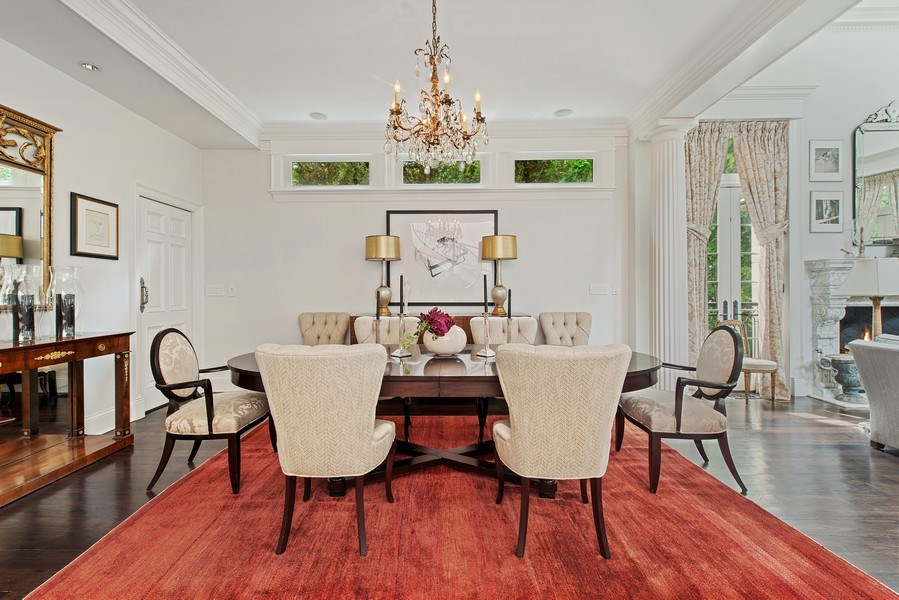 Real Estate Photography - 1239 W. Altgeld, Chicago, IL, 60614 - Dining Room