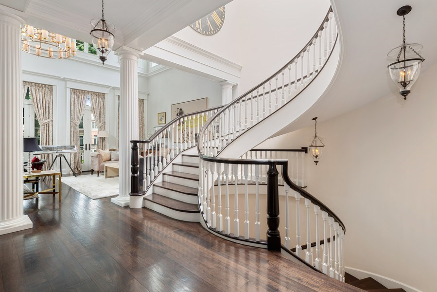 Real Estate Photography - 1239 W. Altgeld, Chicago, IL, 60614 - Staircase