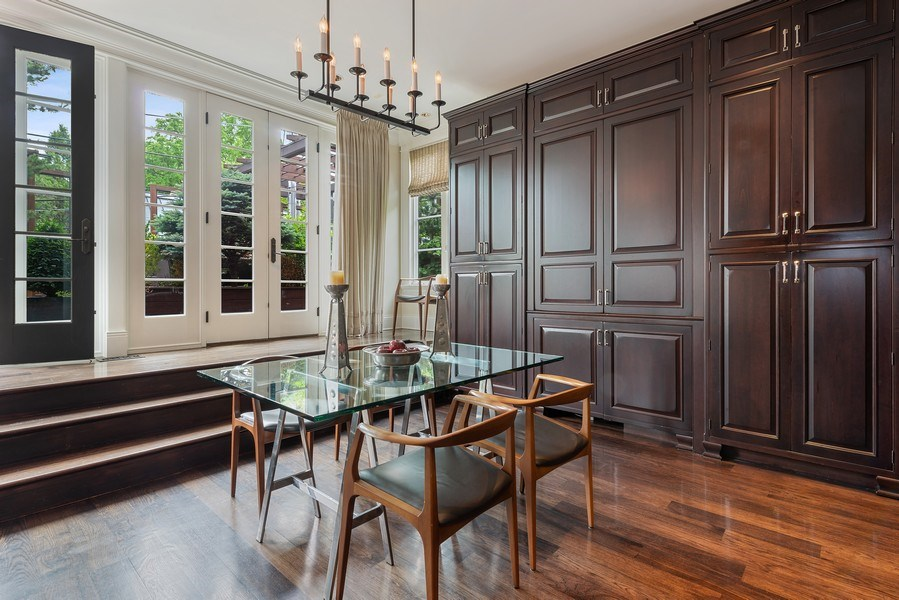 Real Estate Photography - 1239 W. Altgeld, Chicago, IL, 60614 - Breakfast Nook