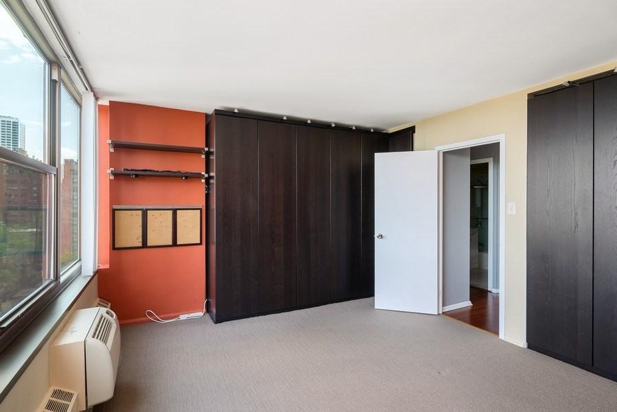 Real Estate Photography - 360 W Wellington, 10E, Chicago, IL, 60657 - Bedroom