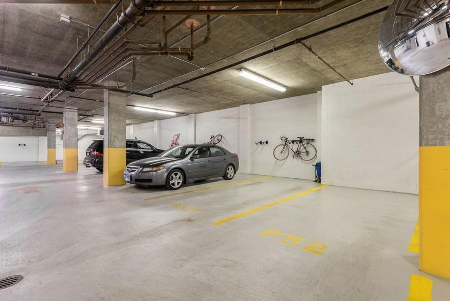Real Estate Photography - 101 W Superior, Unit 502, Chicago, IL, 60610 - Garage