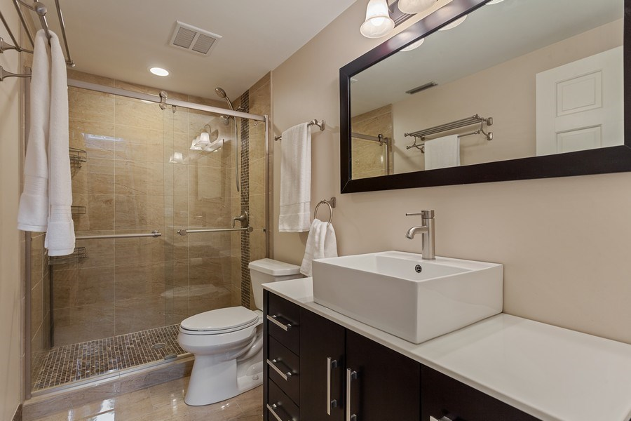 Real Estate Photography - 1306 N Sutton Pl, Chicago, IL, 60610 - 2nd Bathroom