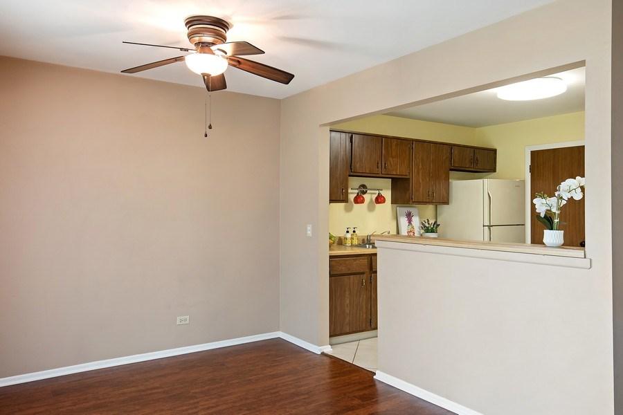 Real Estate Photography - 1180 Northbury Lane #B1, Wheeling, IL, 60090 - Kitchen / Dining Room