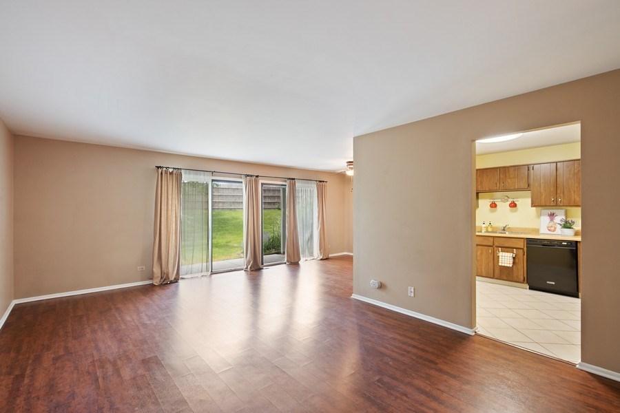 Real Estate Photography - 1180 Northbury Lane #B1, Wheeling, IL, 60090 - Living Room / Dining Room