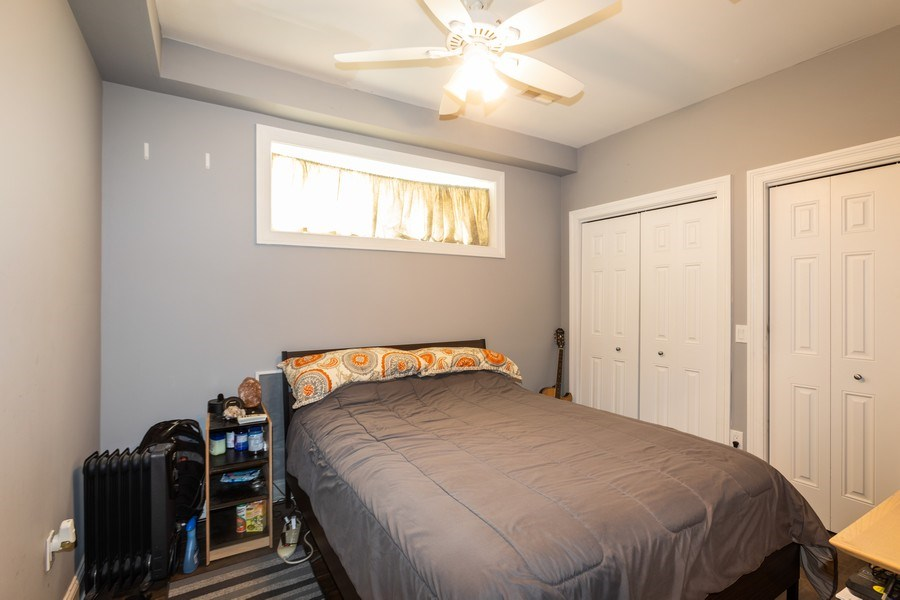 Real Estate Photography - 1704 S. Carpenter, 1B, Chicago, IL, 60608 - 2nd Bedroom