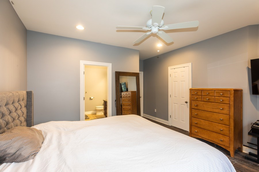 Real Estate Photography - 1704 S. Carpenter, 1B, Chicago, IL, 60608 - Master Bedroom