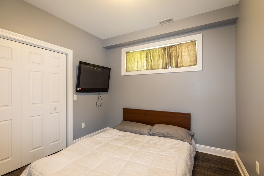 Real Estate Photography - 1704 S. Carpenter, 1B, Chicago, IL, 60608 - Bedroom