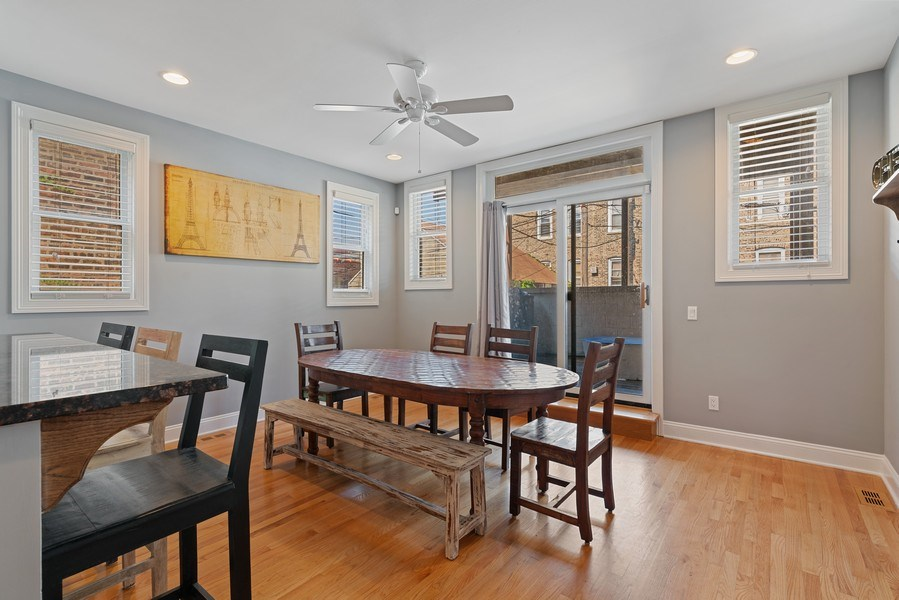 Real Estate Photography - 1704 S. Carpenter, 1B, Chicago, IL, 60608 - Dining Area