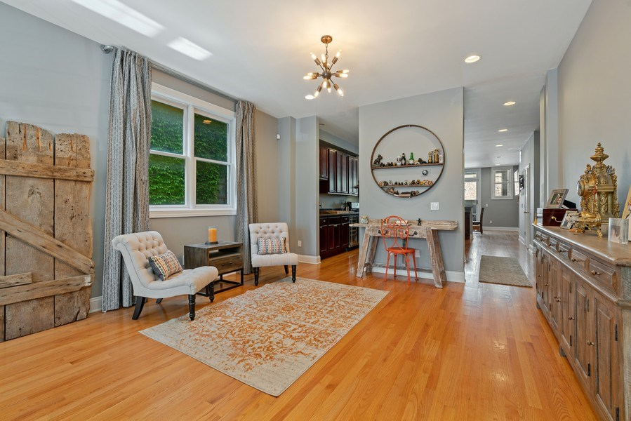 Real Estate Photography - 1704 S. Carpenter, 1B, Chicago, IL, 60608 - Dining Room