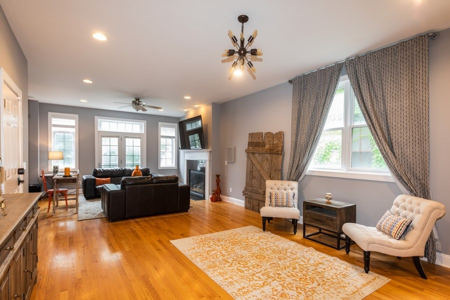 Real Estate Photography - 1704 S. Carpenter, 1B, Chicago, IL, 60608 - Dining Area 2