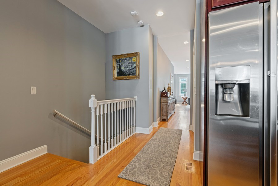 Real Estate Photography - 1704 S. Carpenter, 1B, Chicago, IL, 60608 - Staircase