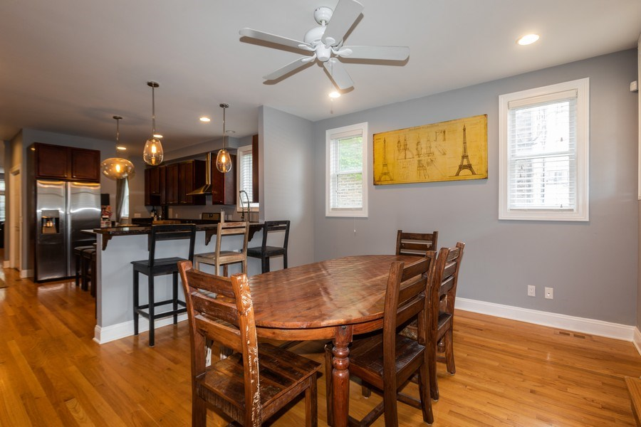 Real Estate Photography - 1704 S. Carpenter, 1B, Chicago, IL, 60608 - Kitchen / Dining Room