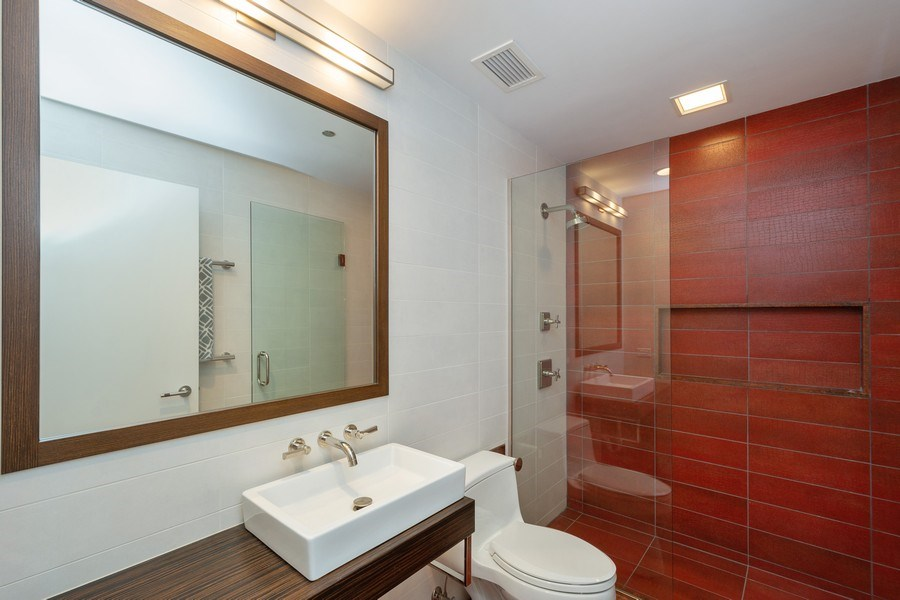 Real Estate Photography - 415 E North Water St, Unit 1605, Chicago, IL, 60611 - 2nd Bedroom Bath