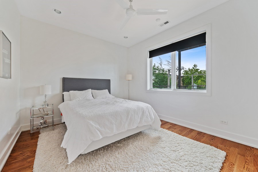 Real Estate Photography - 2144 W Rice St, #3W, Chicago, IL, 60622 - 2nd Bedroom