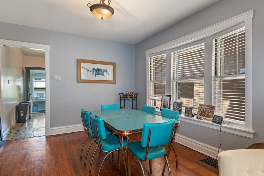 Real Estate Photography - 4044 W George St, Chicago, IL, 60641 - Dining Room