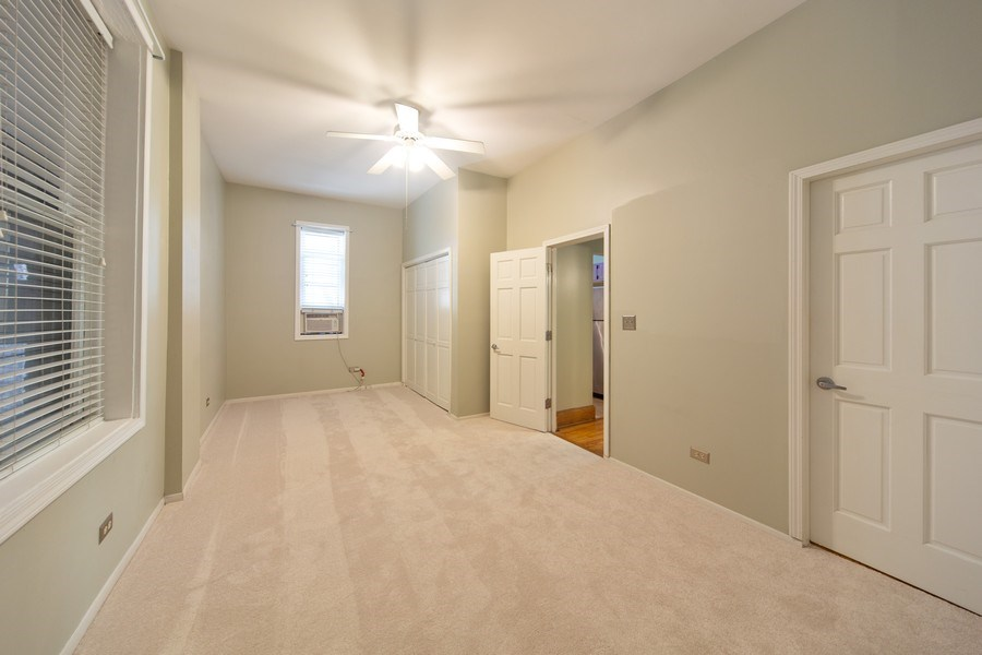 Real Estate Photography - 819 W Dickens #2, Chicago, IL, 60614 - Master Bedroom