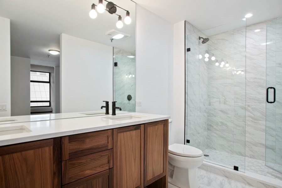 Real Estate Photography - 680 N. Lakeshore Drive #912, Chicago, IL, 60611 - Master Bathroom