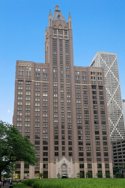 Real Estate Photography - 680 N. Lakeshore Drive #912, Chicago, IL, 60611 - Front View
