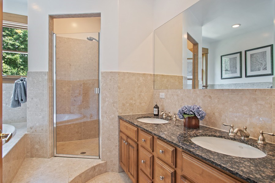 Real Estate Photography - 2314 Brown, Evanston, IL, 60201 - Master Bathroom