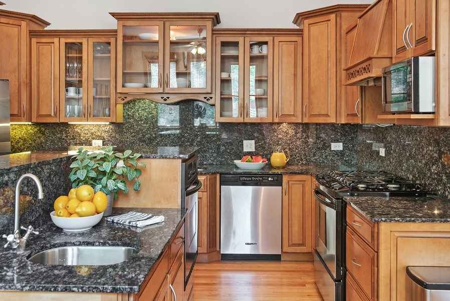 Real Estate Photography - 2314 Brown, Evanston, IL, 60201 - Kitchen