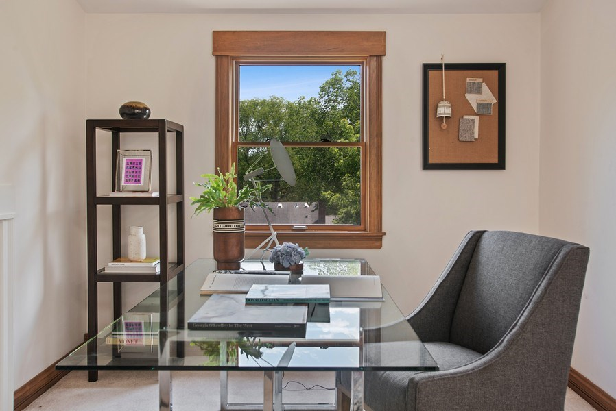 Real Estate Photography - 2314 Brown, Evanston, IL, 60201 - Office