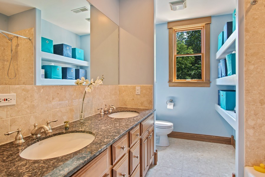 Real Estate Photography - 2314 Brown, Evanston, IL, 60201 - Bathroom