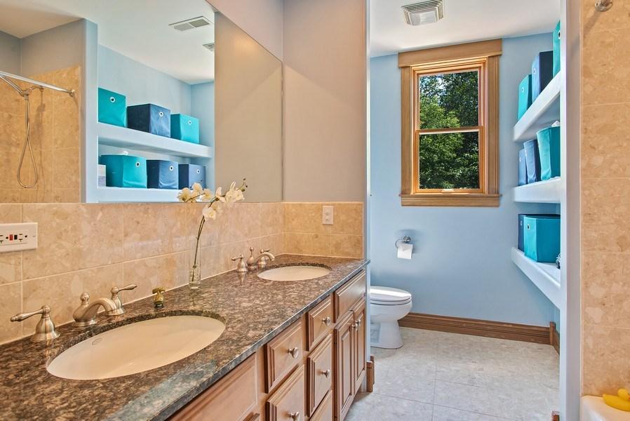 Real Estate Photography - 2314 Brown, Evanston, IL, 60201 - Bathroom