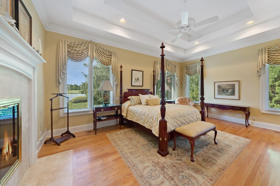 Real Estate Photography - 14 Riderwood, North Barrington, IL, 60010 - Master Bedroom