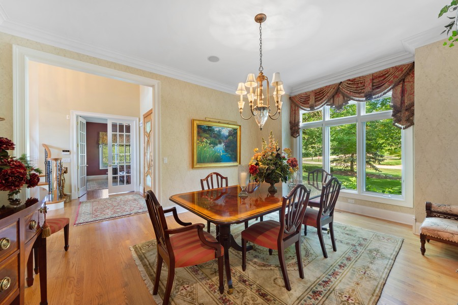 Real Estate Photography - 14 Riderwood, North Barrington, IL, 60010 - Foyer/Dining Room