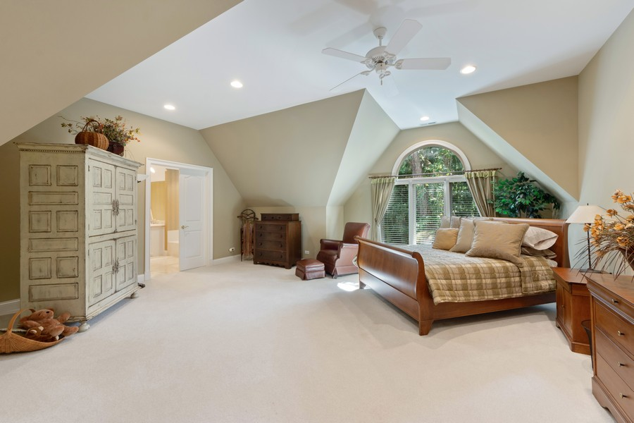 Real Estate Photography - 14 Riderwood, North Barrington, IL, 60010 - 4th Bedroom