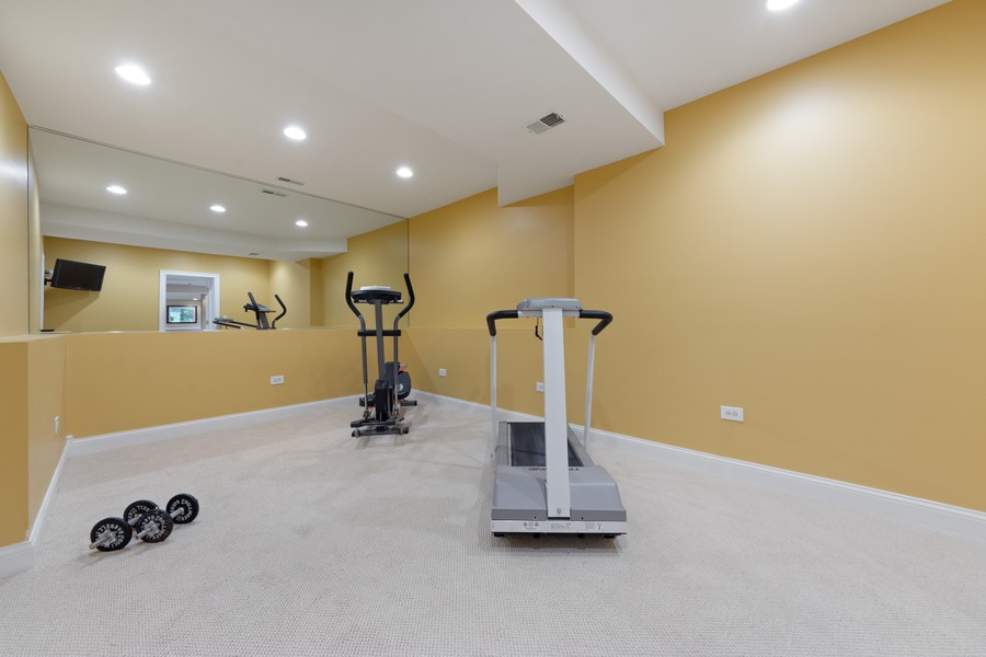 Real Estate Photography - 14 Riderwood, North Barrington, IL, 60010 - Exercise Room