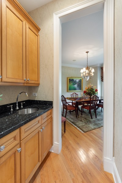 Real Estate Photography - 14 Riderwood, North Barrington, IL, 60010 - Butler's pantry