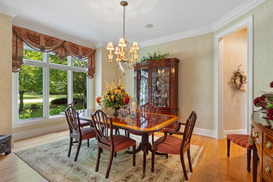 Real Estate Photography - 14 Riderwood, North Barrington, IL, 60010 - Dining Room