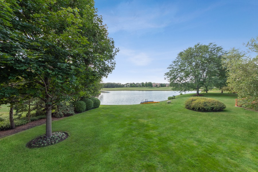 Real Estate Photography - 14 Riderwood, North Barrington, IL, 60010 - Back Yard