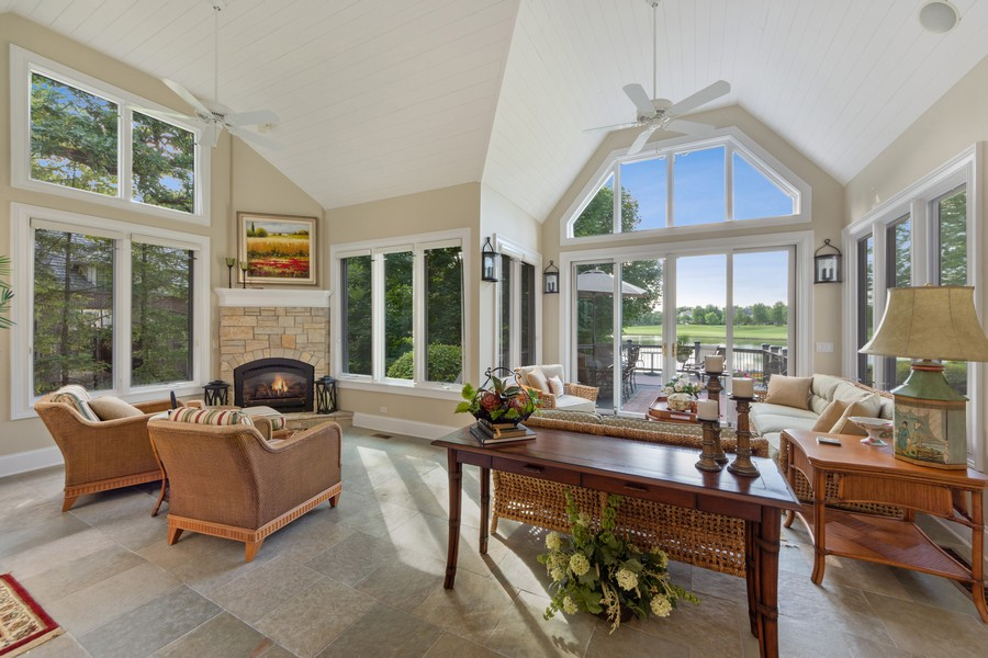 Real Estate Photography - 14 Riderwood, North Barrington, IL, 60010 - Sun Room