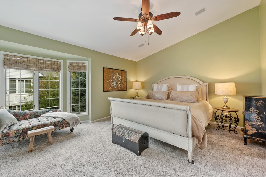Real Estate Photography - 727 S Racine Ave, #E, Chicago, IL, 60607 - Master Bedroom