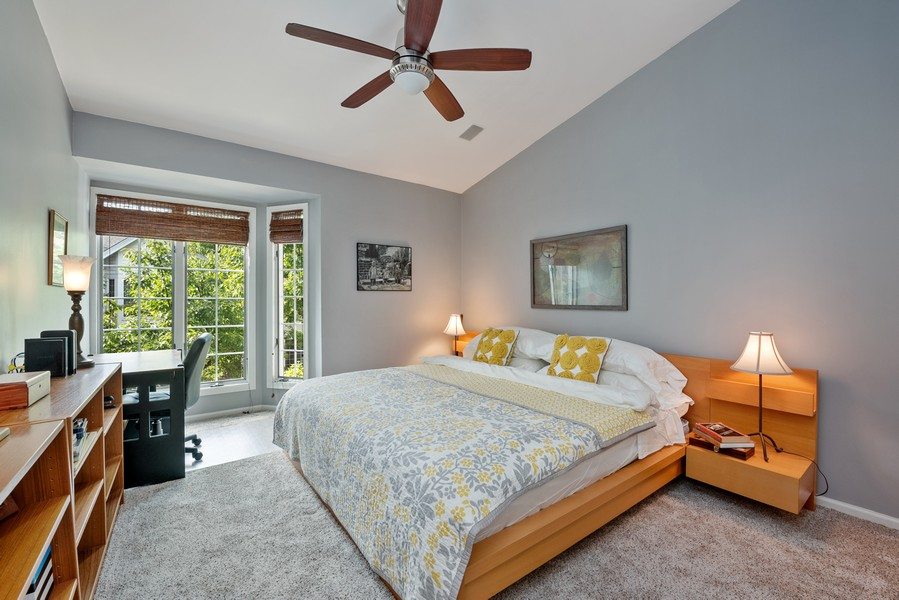 Real Estate Photography - 727 S Racine Ave, #E, Chicago, IL, 60607 - 2nd Bedroom