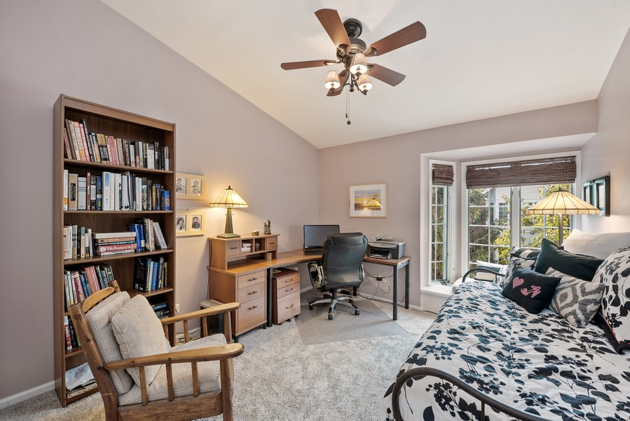Real Estate Photography - 727 S Racine Ave, #E, Chicago, IL, 60607 - 3rd Bedroom