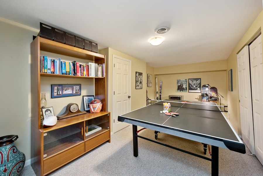 Real Estate Photography - 727 S Racine Ave, #E, Chicago, IL, 60607 - Recreational Room