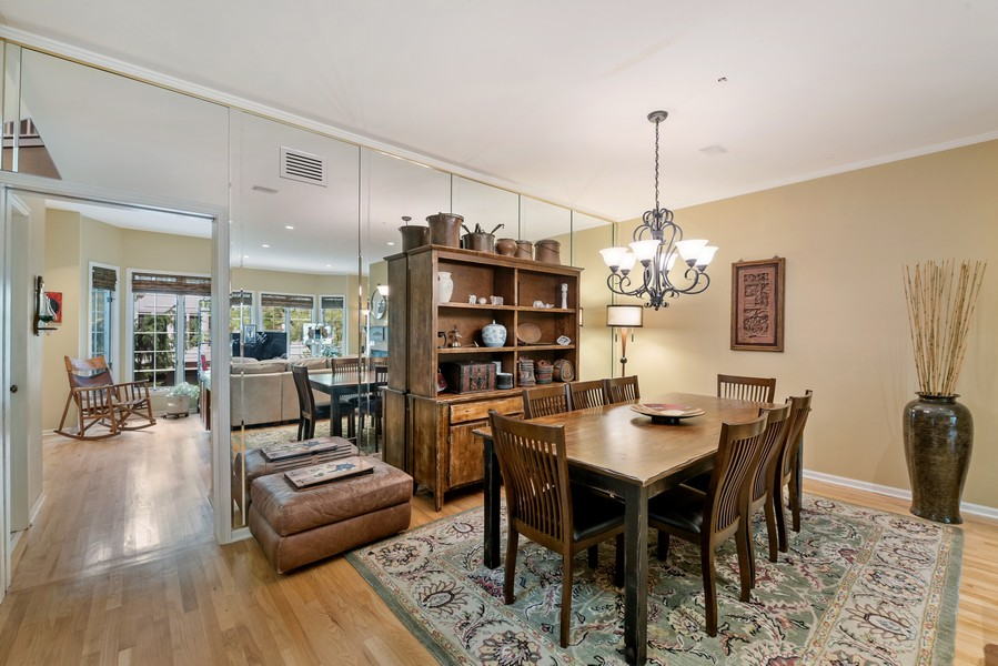 Real Estate Photography - 727 S Racine Ave, #E, Chicago, IL, 60607 - Dining Room