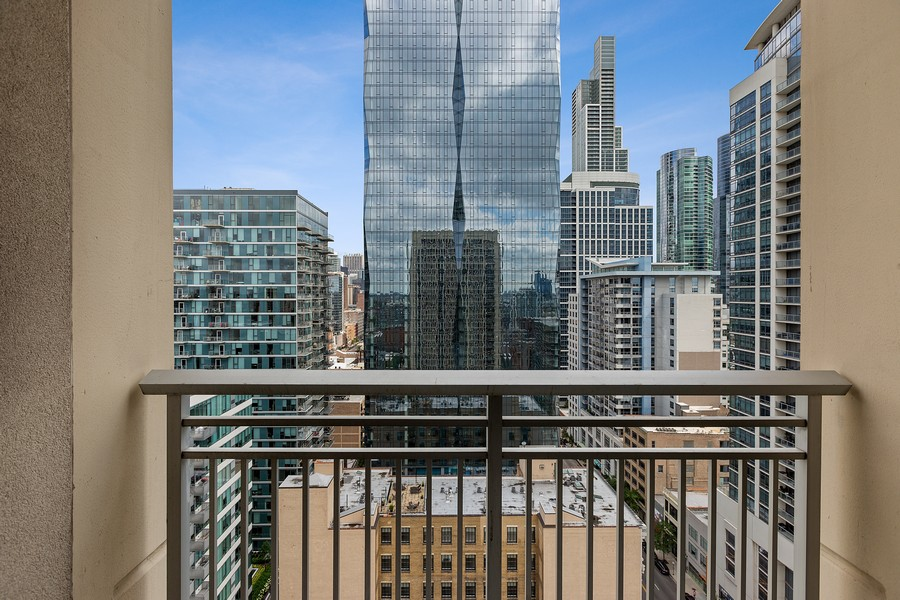 Real Estate Photography - 1400 S Michigan #2107, Chicago, IL, 60605 - City View