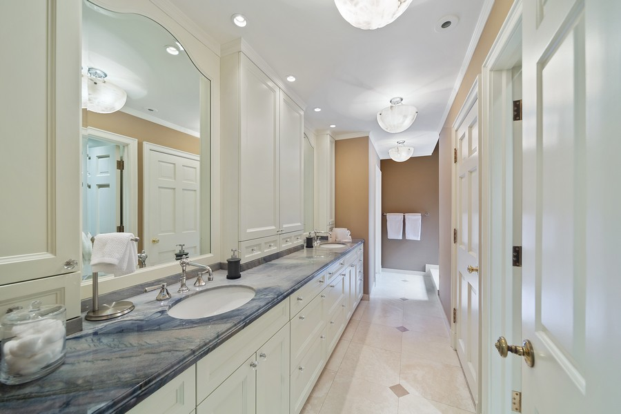 Real Estate Photography - 1500 North Astor, Unit 7, Chicago, IL, 60610 - Master Bathroom