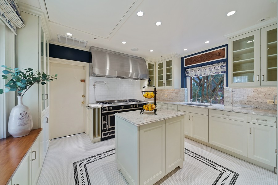 Real Estate Photography - 1500 North Astor, Unit 7, Chicago, IL, 60610 - Kitchen